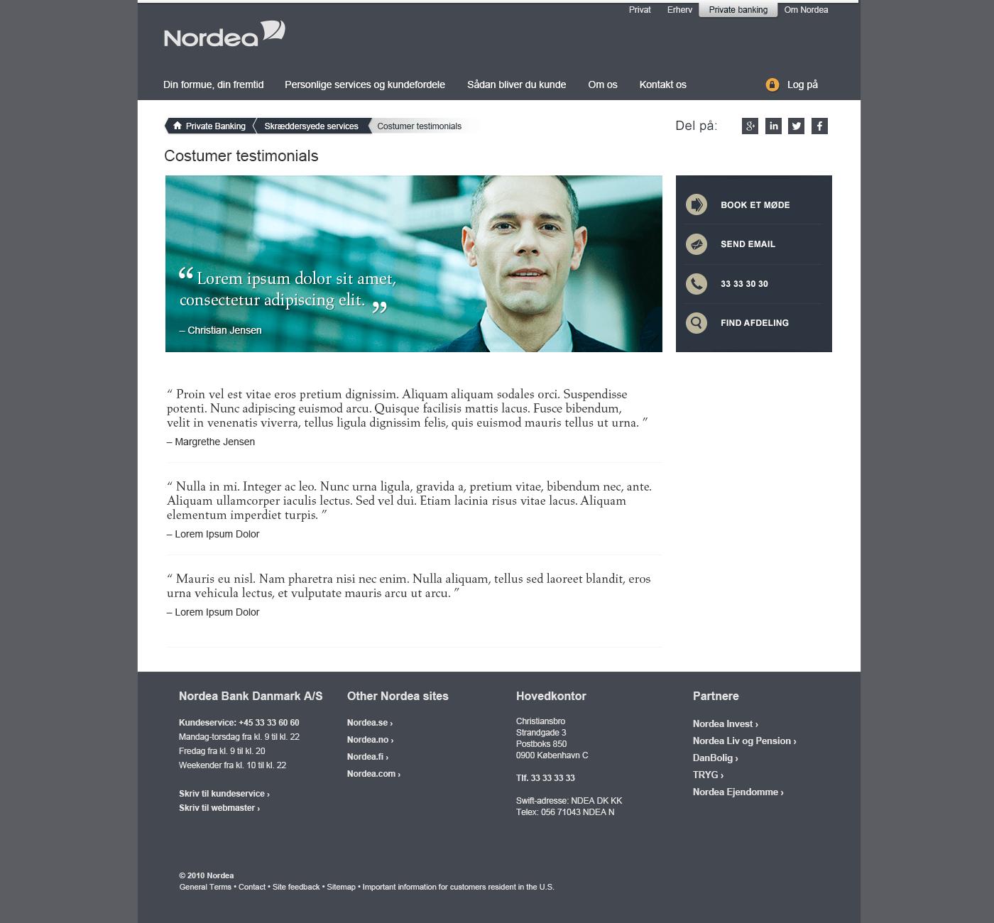 Nordeaprivatebanking_Costumer_testimonials_26_08_2015